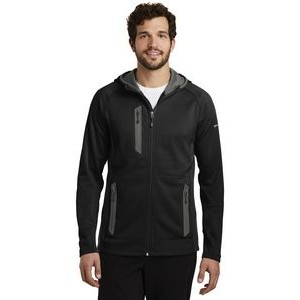 Eddie Bauer® Sport Hooded Full Zip Fleece Jacket