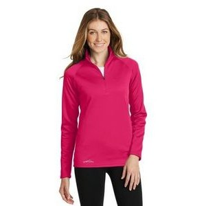 Eddie Bauer® Ladies 1/2- Zip Base Layer Fleece Shirt