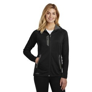 Ladies' Eddie Bauer® Sport Hooded Full Zip Fleece Jacket
