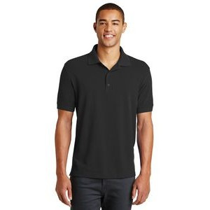 Men's Eddie Bauer® Cotton Pique Polo Shirt