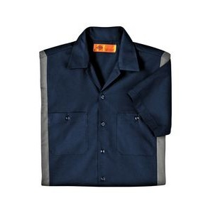 Williamson-Dickie Mfg Co Men's 4.25 oz. Industrial Colorblock Shirt