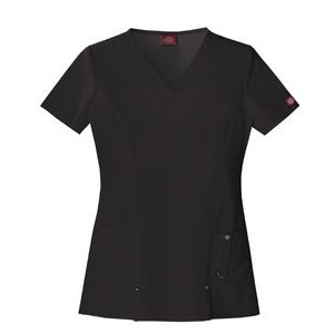 Dickies® Xtreme Stretch V-Neck Top
